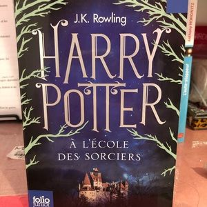 Harry Potter French book